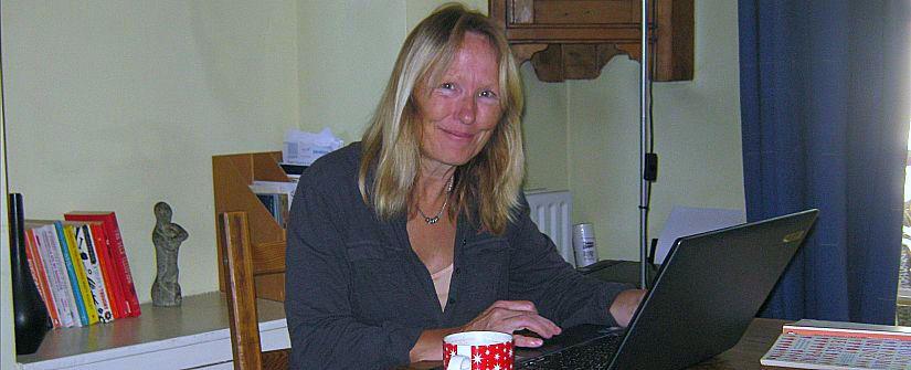 female writer